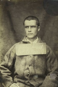 John Boyle O'Reilly while a prisoner in Mountjoy