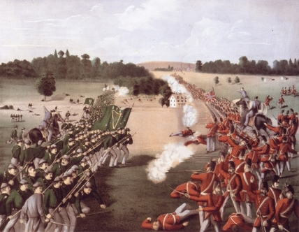 The Battle of Ridgeway, 1866