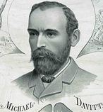 Michael Davitt, colleague of John Boyle O'Reilly
